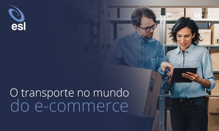 O transporte no mundo do e-commerce